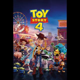 Toy Story 4 | HDX | Vudu or MA