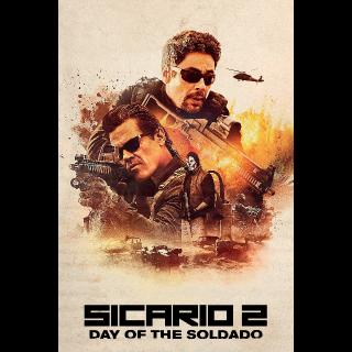 Sicario: Day of the Soldado | HDX | UV VUDU or HD iTunes via MA