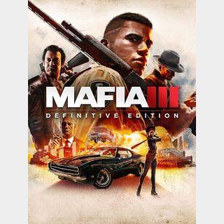 Mafia III: Definitive Edition Steam Key/Code Global