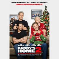 INSTANT DELIVERY Daddy's Home 2 | 4K/UHD | iTunes