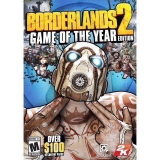Borderlands 2 Game of the Year Edition Steam Key/Code Global