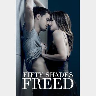 Fifty Shades Freed | HDX | UV or HD iTunes via MA