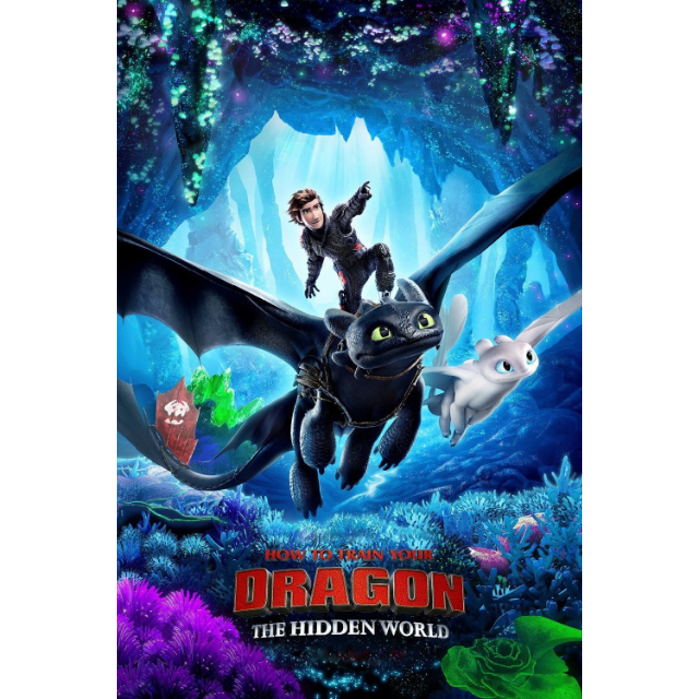 How to Train Your Dragon: The Hidden World | HDX | VUDU or HD iTunes via MA