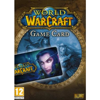 World of Warcraft 60 Day Pre-paid Game Card PC Key/Code EUROPE