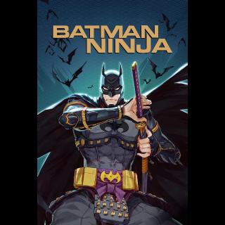 Batman Ninja | HDX | VUDU