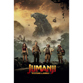 Jumanji: Welcome to the Jungle | HDX | UV VUDU