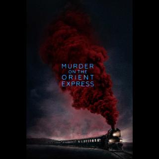 Murder on the Orient Express | HDX Vudu or iTunes | MA