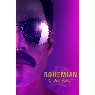 [INSTANT] Bohemian Rhapsody | 4K/UHD | VUDU or 4K iTunes via MA