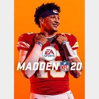 Madden NFL 20 Origin Key/Code Global