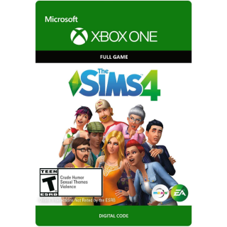 INSTANT DELIVERY The Sims 4 Xbox One Key/Code USA