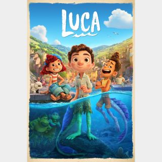 INSTANT DELIVERY Luca | HDX | VUDU or HD iTunes via MA