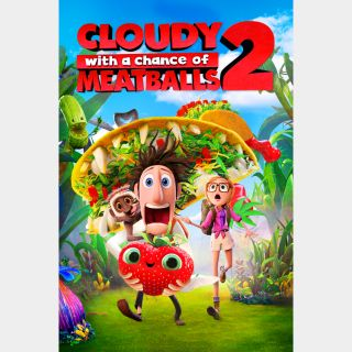 Cloudy with a Chance of Meatballs 2 | HDX | VUDU or HDX iTunes via MA
