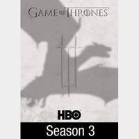 Game of Thrones Season 3   HDX   VUDU
