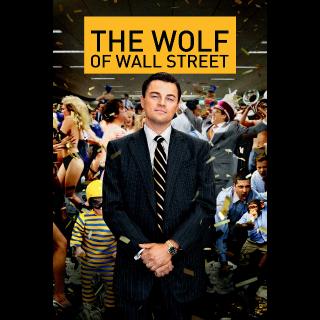 The Wolf of Wall Street   HDX   VUDU