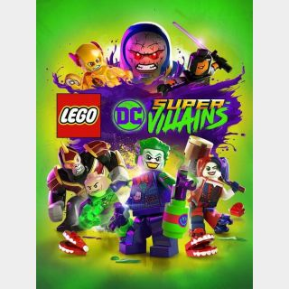 LEGO DC Super-Villains Steam Key/Code Global