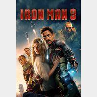 Iron Man 3 | HDX | VUDU or MA