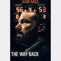 The Way Back | HDX | VUDU or HDX iTunes via MA