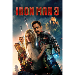 INSTANT DELIVERY Iron Man 3 | HD | Google Play