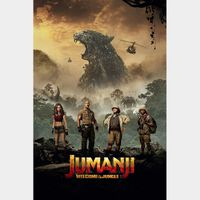 Jumanji: Welcome to the Jungle Digital Code | HDX | UV VUDU or HD iTunes via MA