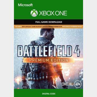 BATTLEFIELD 4 Premium Xbox Key/Code Global