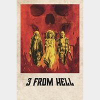 3 from Hell Digital Code   4K/UHD   VUDU