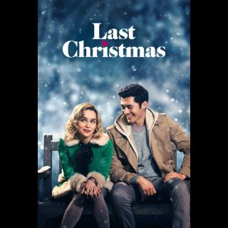 Last Christmas Digital Code   HDX   VUDU or HD iTunes via MA