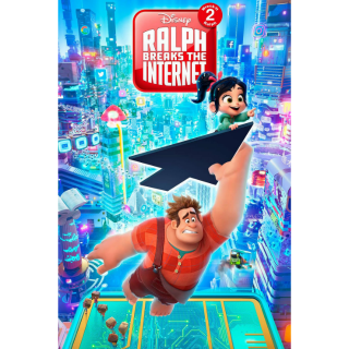 Ralph Breaks the Internet | HDX | VUDU or MA