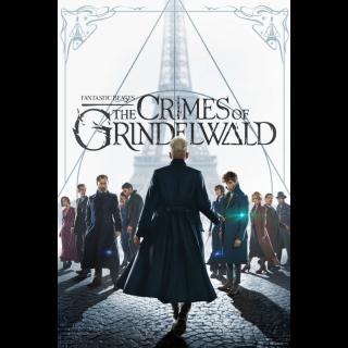Fantastic Beasts: The Crimes of Grindelwald | HDX | VUDU or HD iTunes via MA