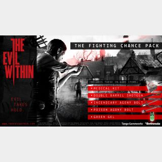 INSTANT DELIVERY The Evil Within The Fighting Chance Pack PS Key/Code UK