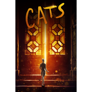 Cats Digital Code | HDX | VUDU or HD iTunes via MA