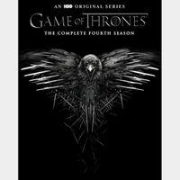 Game of Thrones Season 4   HDX   VUDU