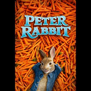 Peter Rabbit | SD | VUDU or SD iTunes via MA