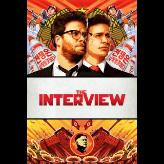 The Interview | SD | UV VUDU