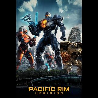 Pacific Rim: Uprising   4K/UHD   VUDU OR MA