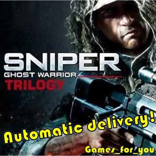 INSTANT DELIVERY Sniper: Ghost Warrior Trilogy Steam Key/Code Global