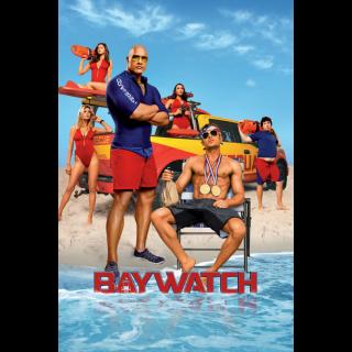 Baywatch | HDX | UV VUDU