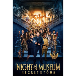 Night at the Museum: Secret of the Tomb | HDX | UV VUDU or HD iTunes
