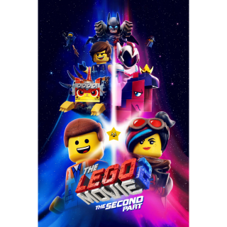 INSTANT The Lego Movie 2: The Second Part   HDX   VUDU or HD iTunes via MA