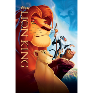 INSTANT DELIVERY The Lion King | HDX | VUDU / MA
