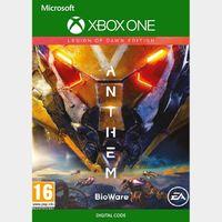 Anthem Legion Of Dawn Edition Xbox One Key/Code Global