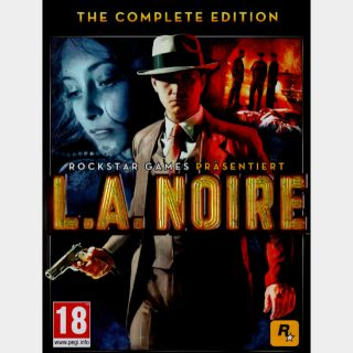 L.A. Noire Complete Edition Steam Key/Code Global