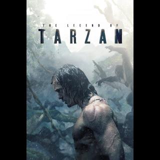 The Legend of Tarzan | HDX VUDU OR iTunes via MA