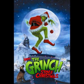 🎅 How the Grinch Stole Christmas 🎅   HDX   VUDU