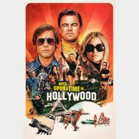 Once Upon a Time… in Hollywood | SD | VUDU or SD iTunes via MA
