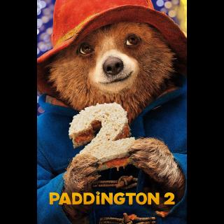 Paddington 2 | HDX UV or HD iTunes via MA
