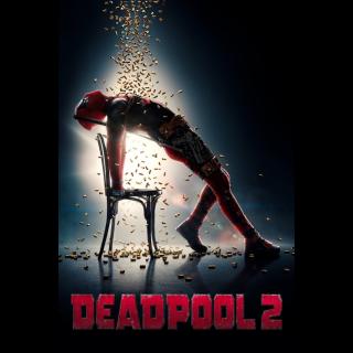 Deadpool 2   4K/UHD   VUDU/MA