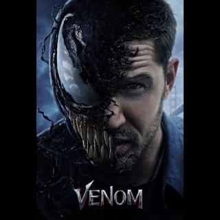 Venom | SD | VUDU or HD iTunes via MA