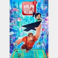 INSTANT DELIVERY Ralph Breaks the Internet | HDX | VUDU or MA