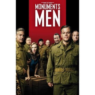 The Monuments Men | SD | UV VUDU