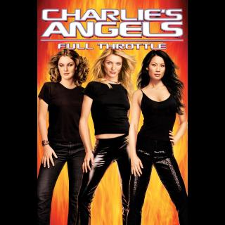 Charlie's Angels: Full Throttle | HDX | VUDU or HD iTunes via MA